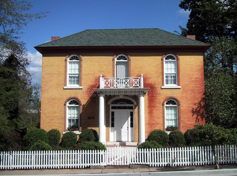 Download Old Brick House Stock Photo - Image: 185140