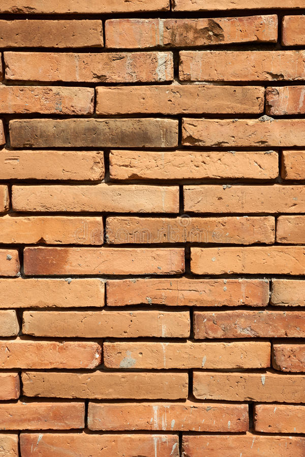 Old brick pattern. Take from a wall stock photos