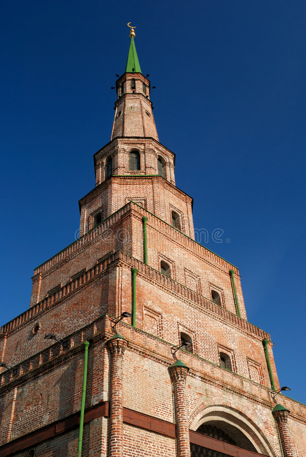 Free Old Brick Tower In Kazan (Tatarstan) Stock Images - 7117564