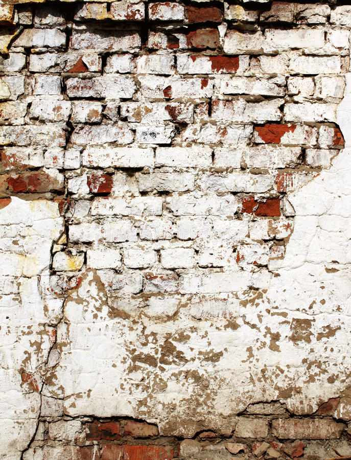 Download Old brick wall stock image. Image of brick, damaged, surface - 18097435