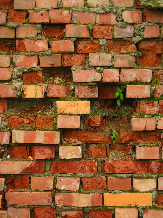 Download Old brick wall stock image. Image of abstract, building - 190151