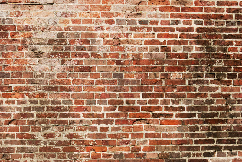 Download Old Brick Wall stock image. Image of structure, fort, background - 4845005