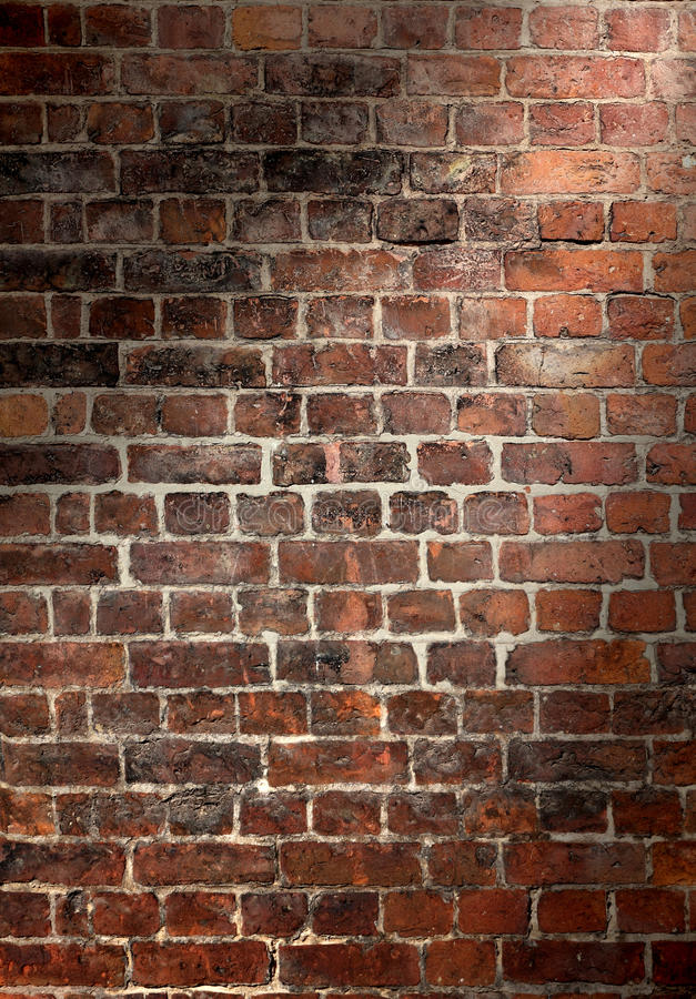 Free Old Brick Wall Background Stock Images - 21179534