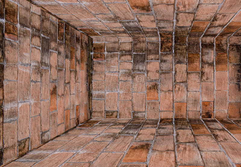 Download Old Brick Wall Room,Perspective. Stock Image - Image: 25907801
