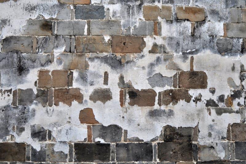 Old brick walls. View of old brick walls royalty free stock photography