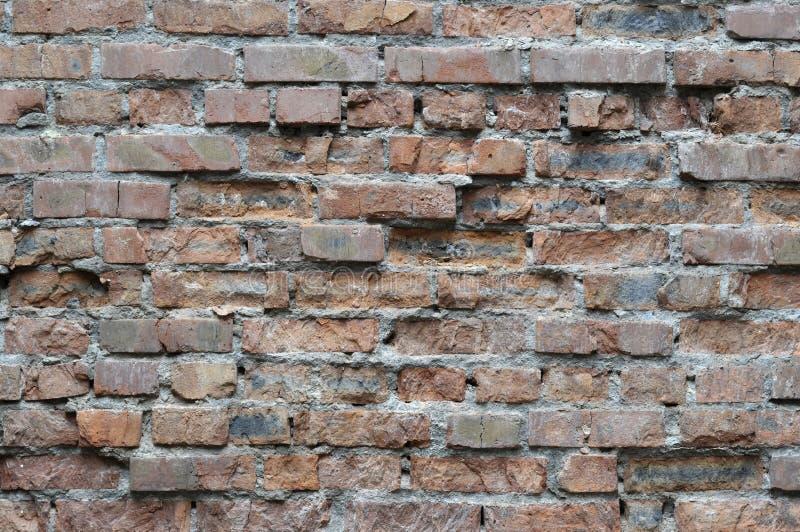 Old brick walls. Close up stock image
