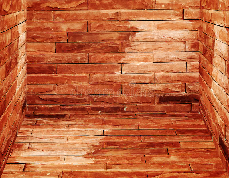 Download Old brick walls and floor stock image. Image of construction - 20346027