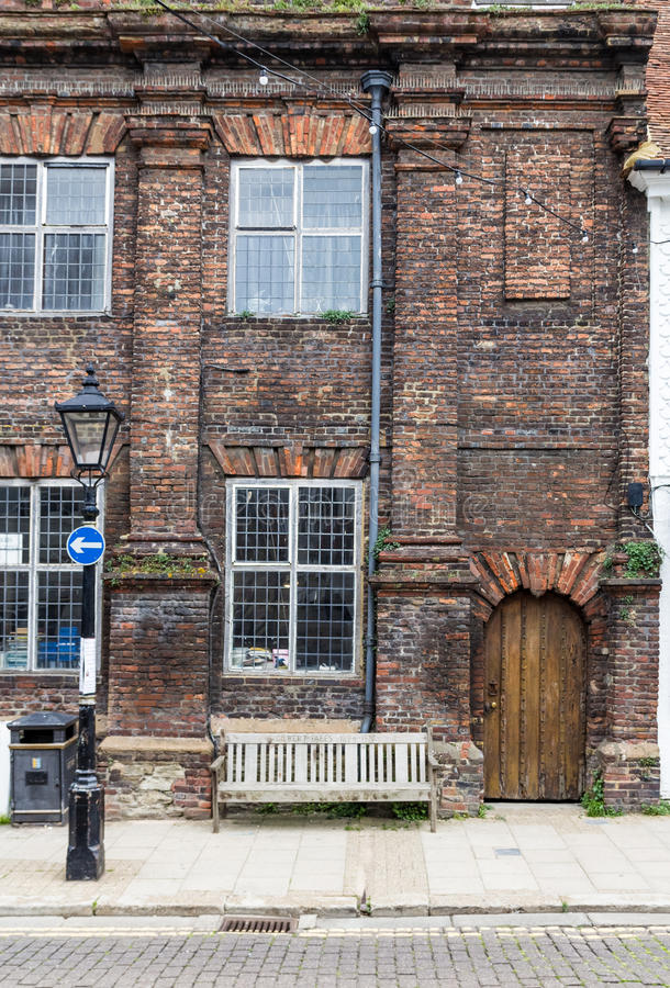 Download An Old Brick And Wood House Seen In Rye, Kent, UK Editorial Stock