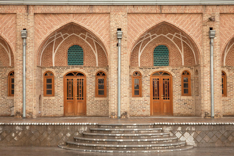 Old Brickwork Architecture of a Caravansary royalty free stock photos