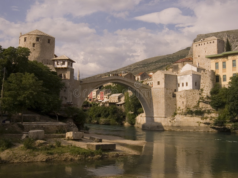 Download Old Bridge Stock Image - Image: 1412141
