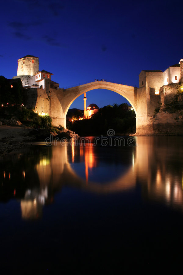 The old bridge royalty free stock photography
