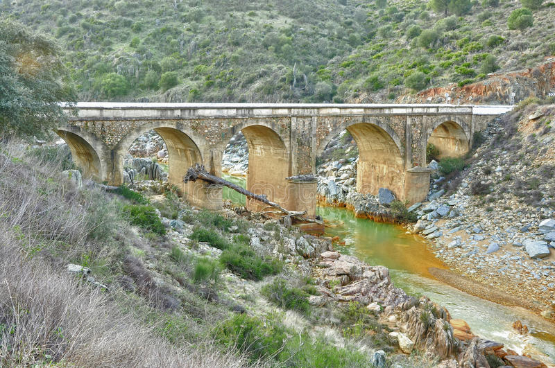 Download Old bridge of Andalusia stock image. Image of contour - 24051727