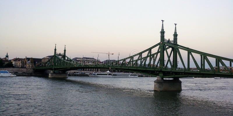 Old bridge Crossing royalty free stock image