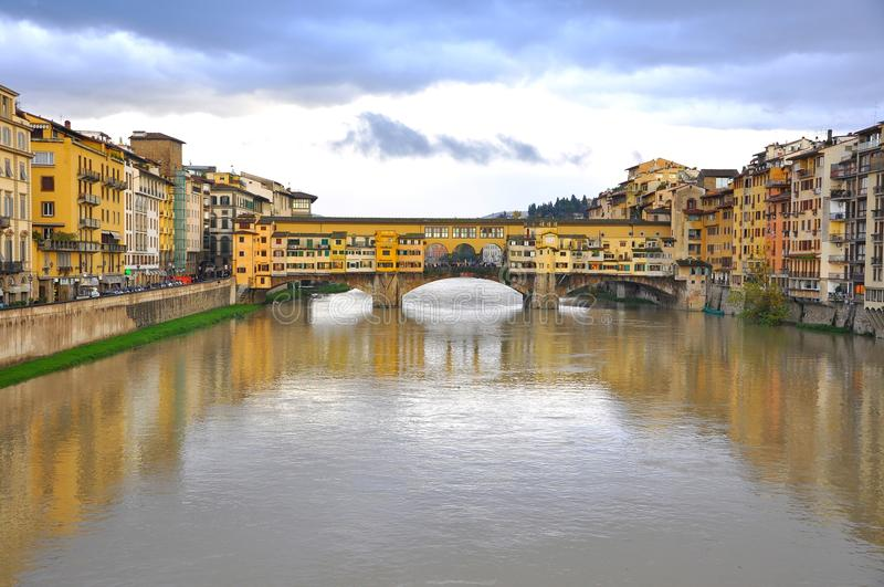 Download The Old Bridge In Florence, Italy Editorial Stock Photo - Image: 17063908