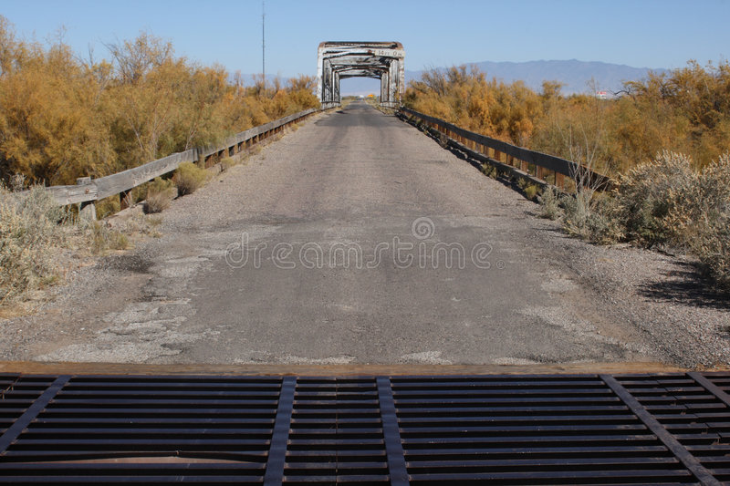 Download Old bridge two stock photo. Image of rail, bridge, road - 3525606