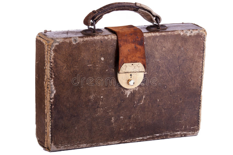 Download Old Briefcase stock photo. Image of old, container, business -  29488862
