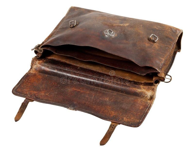 Old briefcase stock photos