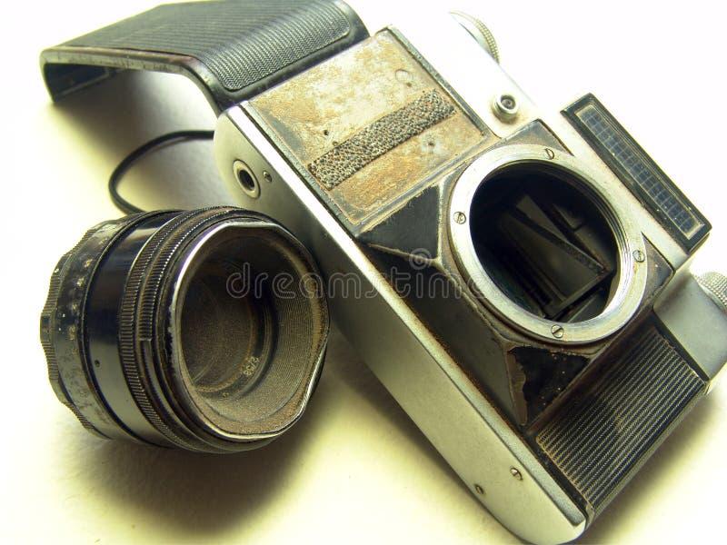 Old Broken Camera stock image