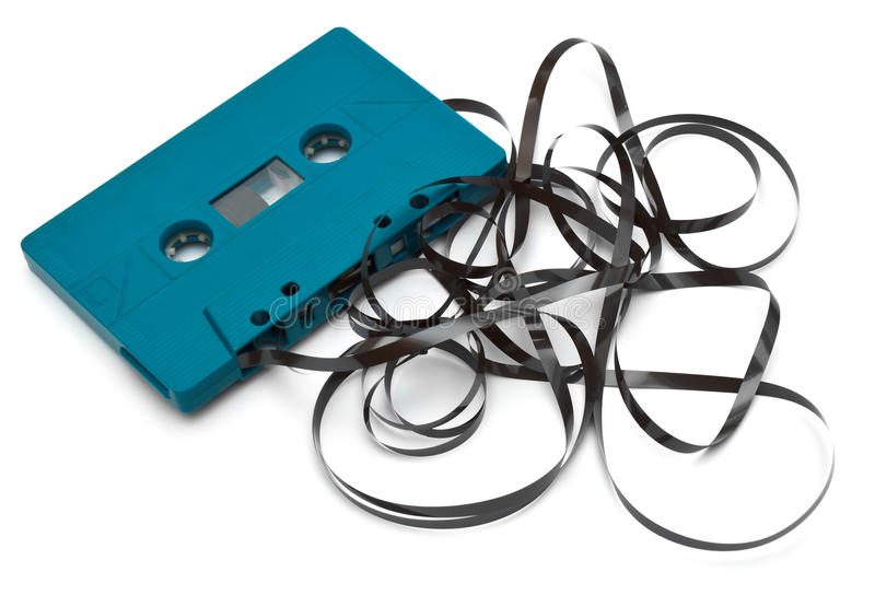 Download Old broken cassette stock photo. Image of historical - 39505916