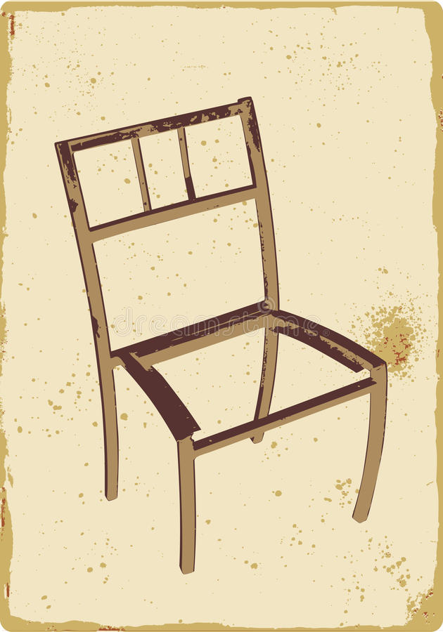 Old Broken Chair Stock Image Image 12445881