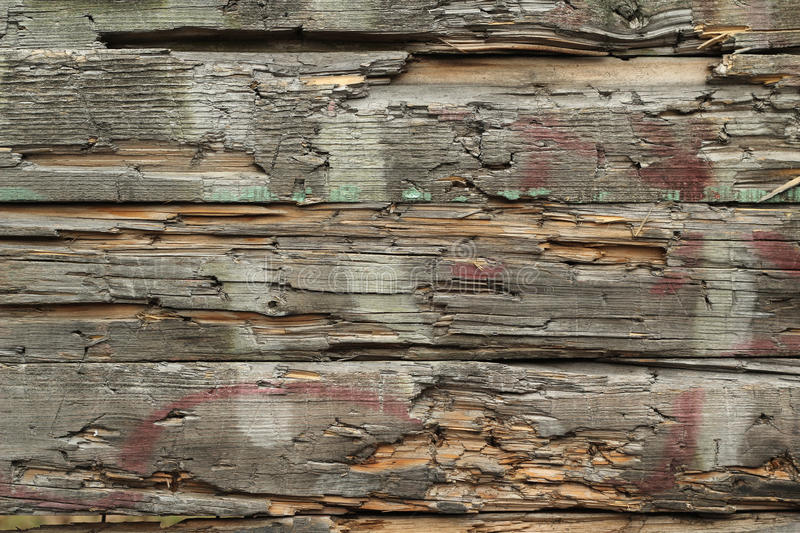 Old broken wooden planks background stock photo image