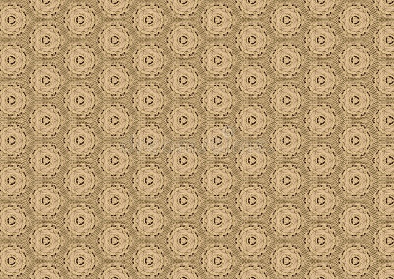 Download Old Brown Antique Lace Pattern Stock Image - Image: 1913263