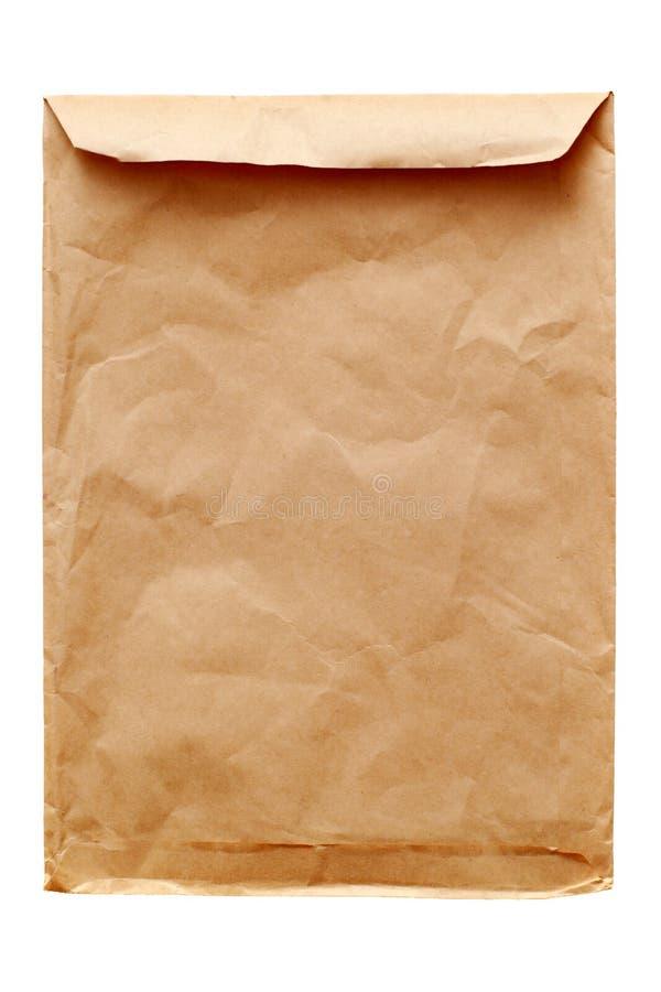 Free Old Brown Envelope Royalty Free Stock Photos - 4004858