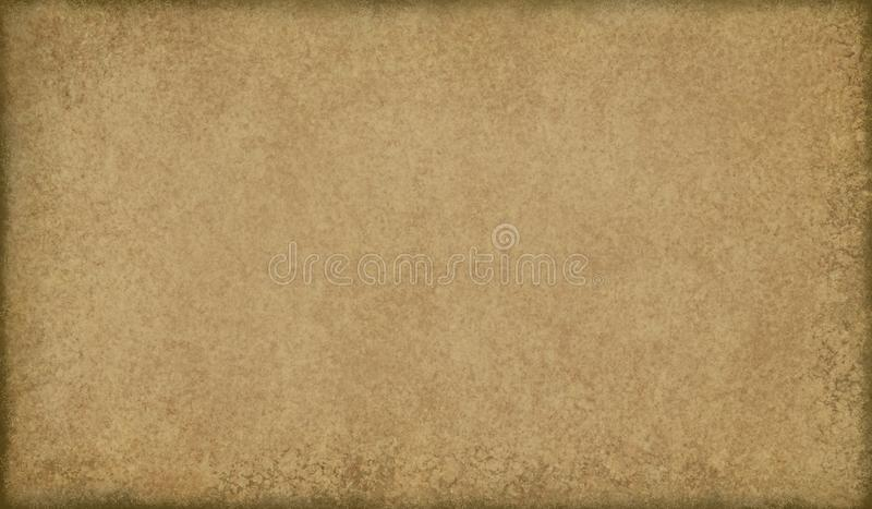 Old brown paper background with black burnt edges and wrinkled grunge texture, vintage backdrop design royalty free stock images