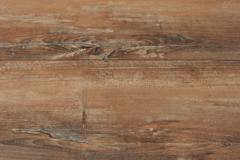 Old brown rustic wood background, wooden surface with copy space. Board, texture. stock photo