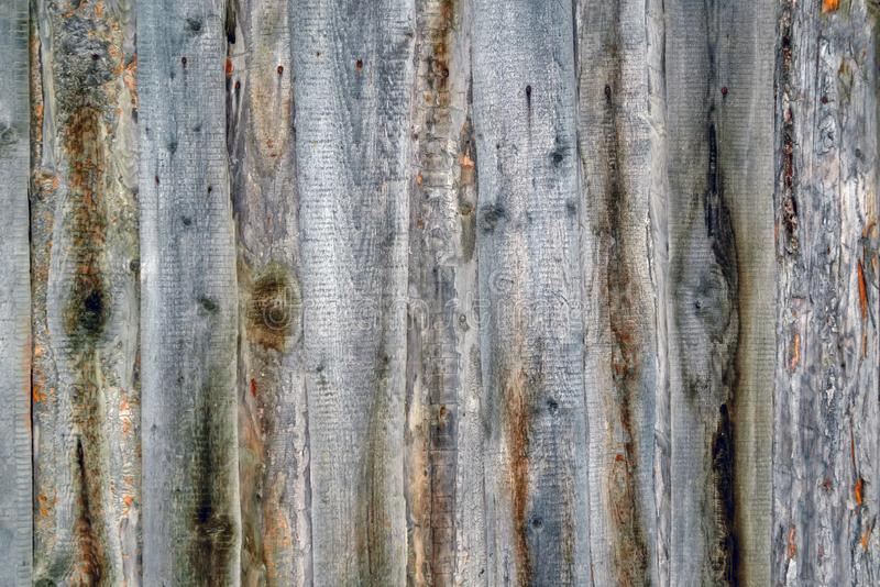 Old brown vintage grunge background made of vertical wooden boards royalty free stock photo