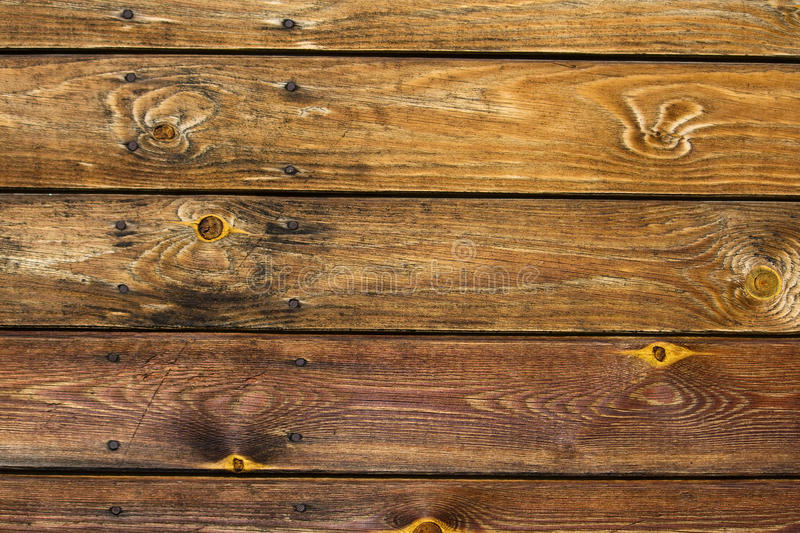 Old brown wood texture desk stock photography