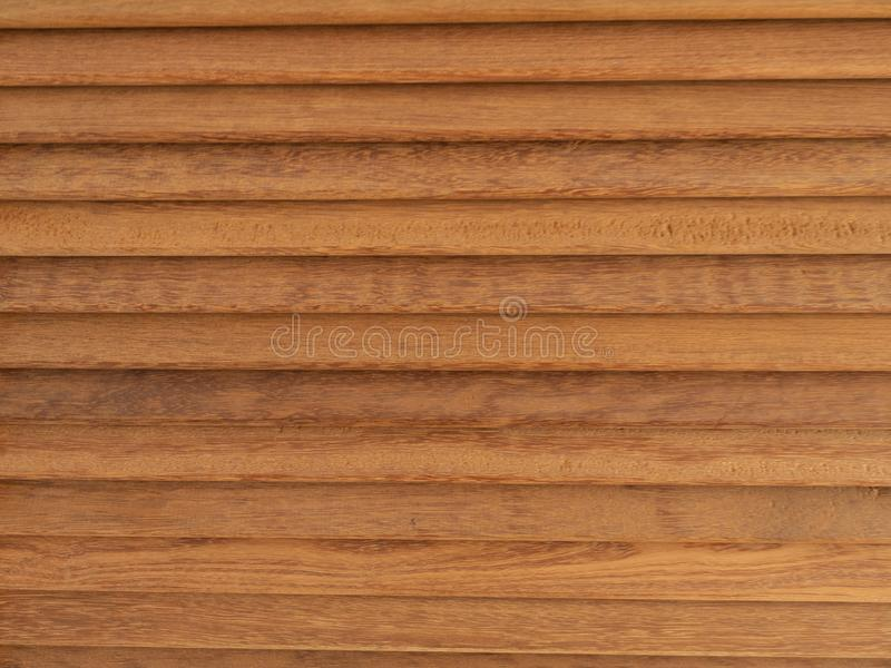Old brown wood walls stacked horizontally. stock images