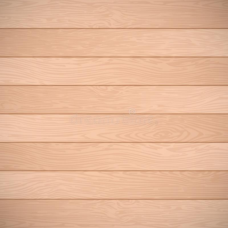 Old brown wooden planks texture. Vector wood background royalty free illustration