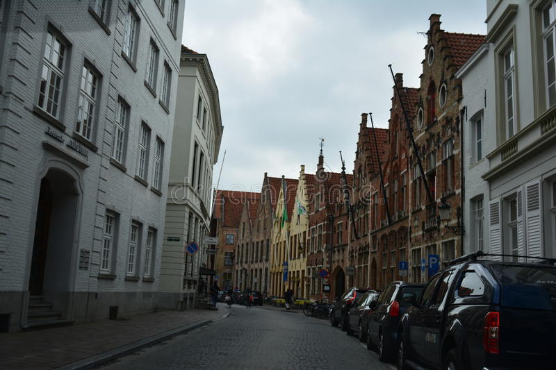 Old Brugge royalty free stock images