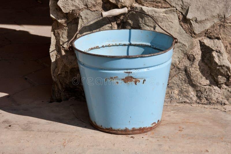 Download Old bucket stock image. Image of handle, dirty, bucket - 15700427