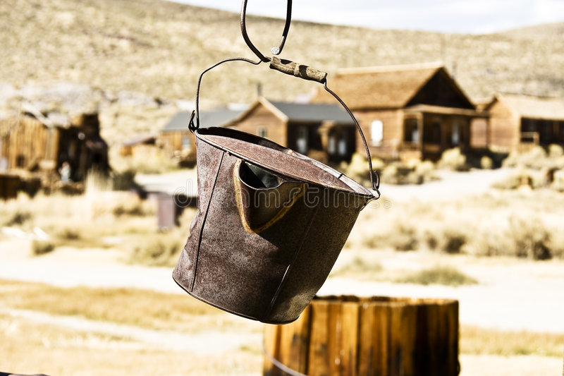 Download Old bucket stock photo. Image of damage, hang, ancient - 6992828