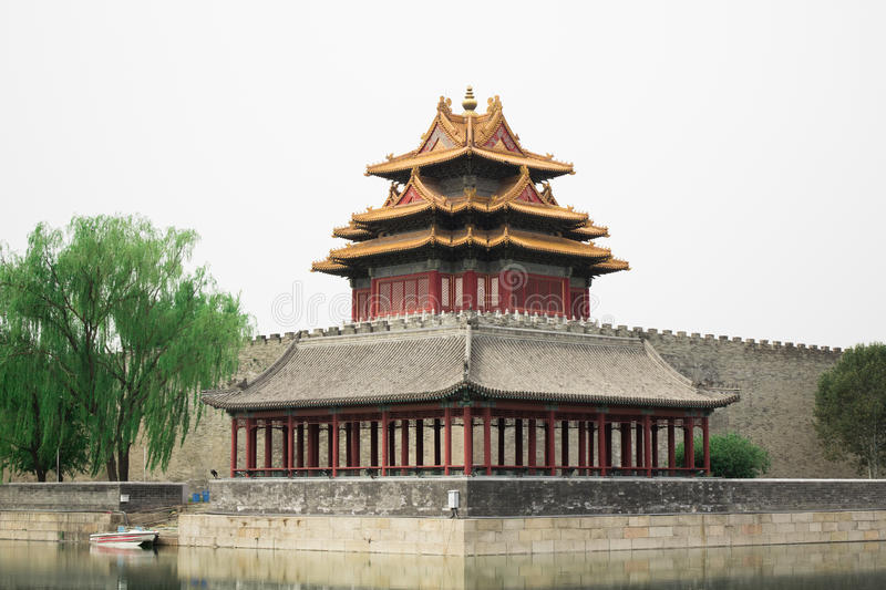 Download Old Buddhism Temple Red Asian Pagoda Tower Ancient Architecture Stock Photo