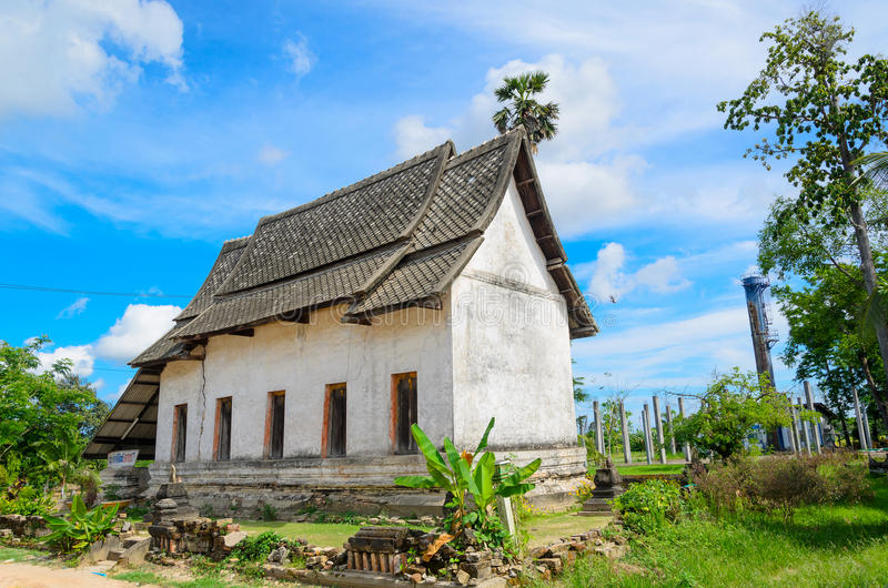 Buddhist Church In Thai Temple Stock Image Image Of