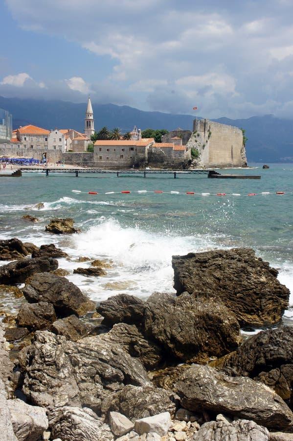 Old Budva, Montenegro royalty free stock photos