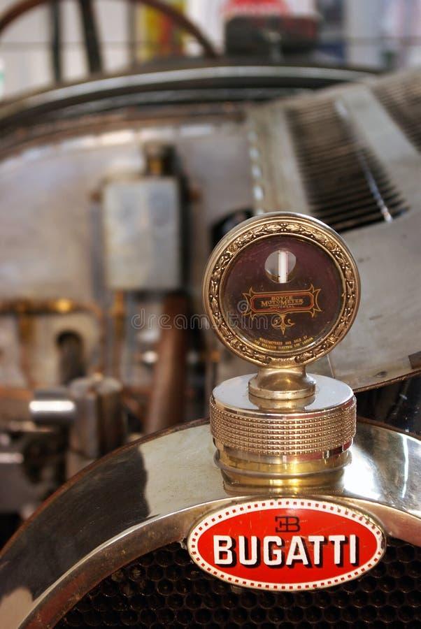 Old Bugatti sign royalty free stock photos