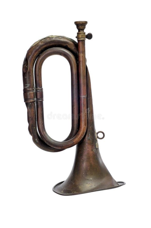 Old bugle stock photos