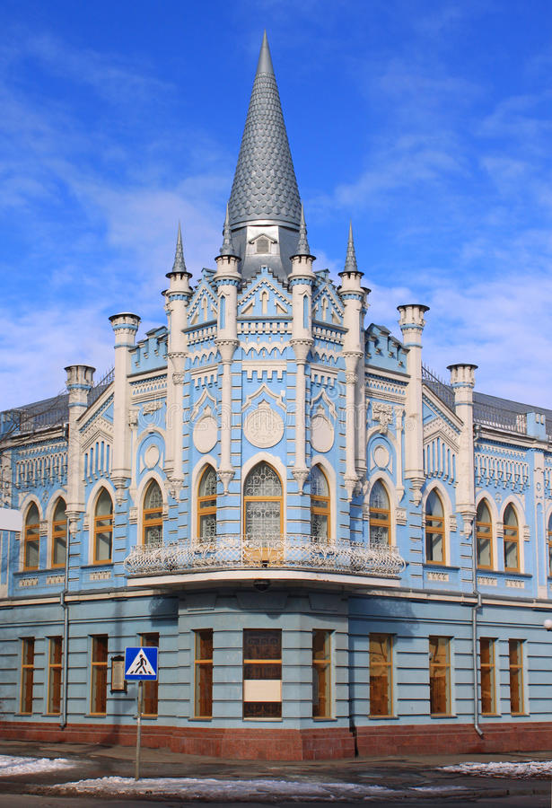 Download Old building in Cherkassy stock photo. Image of famous - 22571812