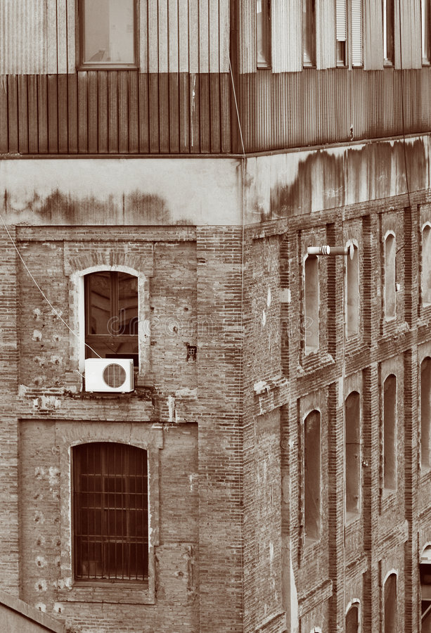 Old Building Construction Royalty Free Stock Image