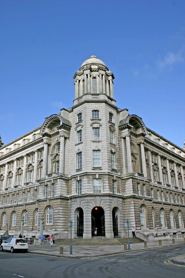 Free Old Building In Liverpool Stock Photography - 1351642