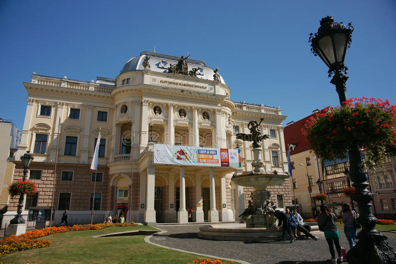 Slovak National Theatre stock images