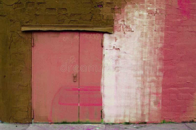 Old building with weathered frontage royalty free stock image
