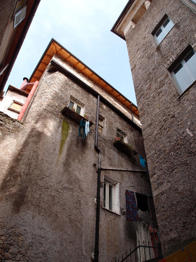 Download Old buildings stock image. Image of roof, italy, windows - 30623731