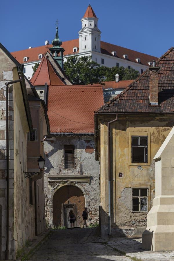 Old Buildings - Bratislava - Slovakia stock images