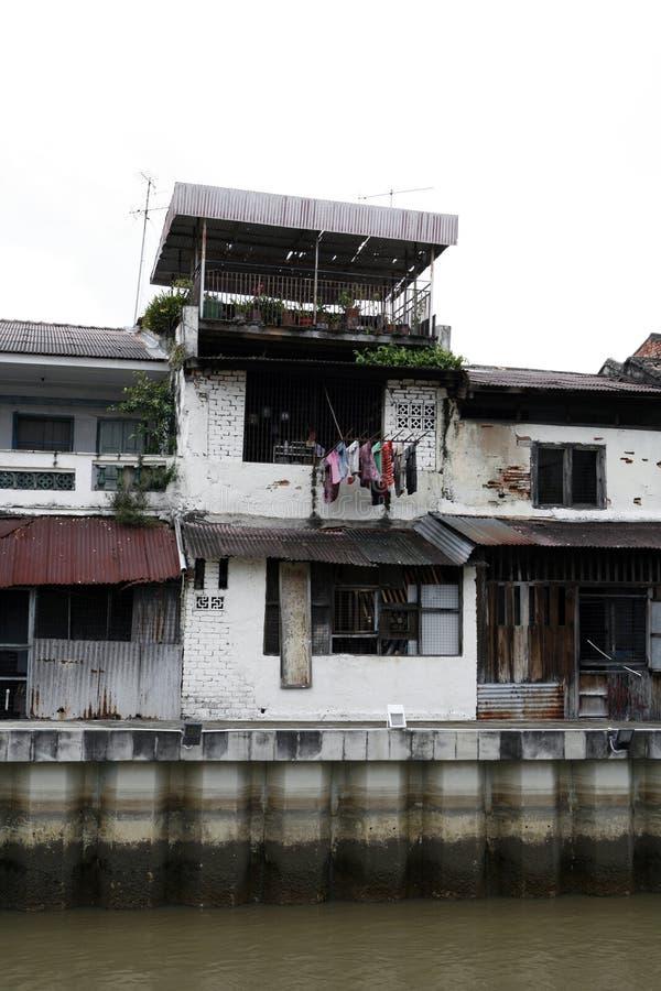 Old Buildings In Disrepair Stock Image