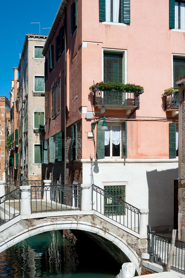 Download Old buildings in Venice stock image. Image of river, channel - 27065107